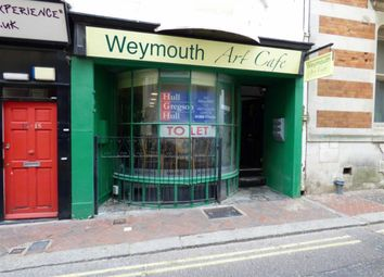 Thumbnail Commercial property for sale in Bond Street, Weymouth
