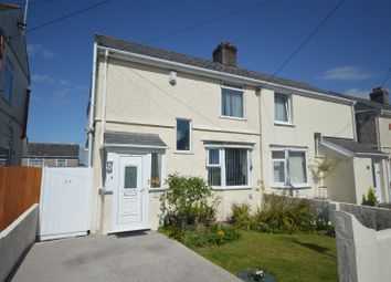Thumbnail 3 bed semi-detached house for sale in Queens Road, Higher St. Budeaux, Plymouth, Devon
