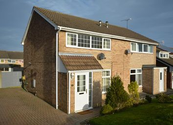 Thumbnail 2 bed semi-detached house for sale in Devon Close, Grassmoor, Chesterfield