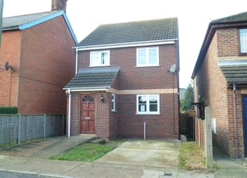 Thumbnail 3 bed detached house to rent in Grimsey Road, Leiston, Suffolk