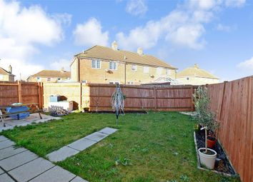 Thumbnail 3 bed end terrace house for sale in Fairview Road, Elvington, Dover, Kent