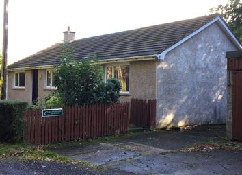 Thumbnail 3 bed detached bungalow to rent in Binsness, Forres