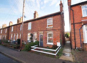 Thumbnail 3 bedroom end terrace house for sale in Central Road, Leiston