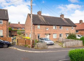 Thumbnail 3 bed semi-detached house for sale in Robin Hood Close, Eastwood, Nottingham