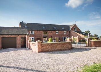 Thumbnail 4 bed barn conversion for sale in Hawkswood Barn, Broadhill, Gnosall, Stafford