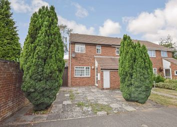 Thumbnail 3 bed semi-detached house to rent in Washburn Close, Bedford