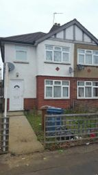 Thumbnail 3 bedroom semi-detached house to rent in Weald Lane, Harrow Weald, Harrow