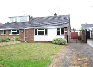Thumbnail 2 bedroom semi-detached bungalow to rent in Bladon View, Stretton, Burton-On-Trent