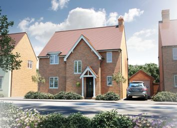"Thumbnail 4 bedroom detached house for sale in ""The Wakehurst"" at Roman Road, Bobblestock, Hereford"