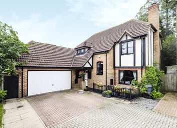 Thumbnail 4 bed detached house for sale in Innings Lane, Warfield, Bracknell, Berkshire