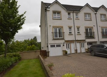 Thumbnail 4 bed end terrace house for sale in Parklands Oval, Glasgow