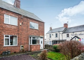 Thumbnail 3 bed semi-detached house for sale in Bakestone Moor, Whitwell, Worksop
