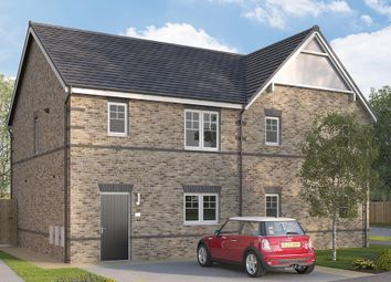 "Thumbnail 3 bed semi-detached house for sale in ""The Queensbridge Semi"" at Myton Green, Europa Way, Warwick"