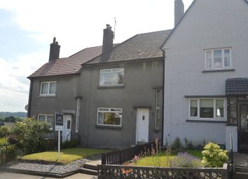 Thumbnail 2 bed terraced house for sale in Lennox Road, Milton, Dumbarton