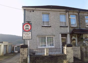 Thumbnail 3 bed semi-detached house for sale in Gelli Grug Road, Abertillery