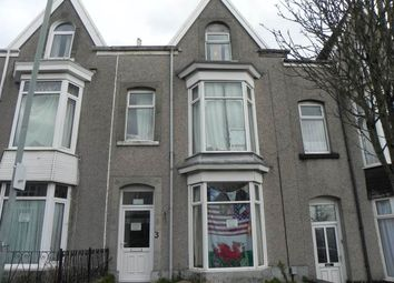 Thumbnail 3 bedroom flat to rent in Gwydr Crescent, Uplands, Swansea