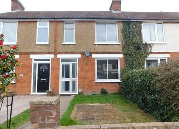 Thumbnail 3 bed terraced house to rent in Graham Road, Felixstowe