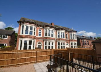 Thumbnail 3 bedroom flat for sale in Ebury Road, Nottingham