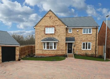 "Thumbnail 4 bed detached house for sale in ""Knightsbridge"" at Eldon Way, Crick Industrial Estate, Crick, Northampton"