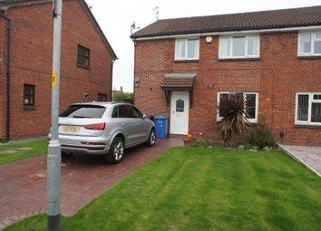 Thumbnail 3 bed semi-detached house for sale in St. Bridgets Close, Fearnhead, Warrington