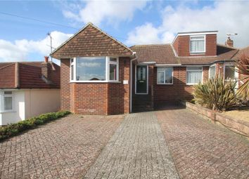Thumbnail 2 bed semi-detached bungalow for sale in Lynchmere Avenue, North Lancing, West Sussex