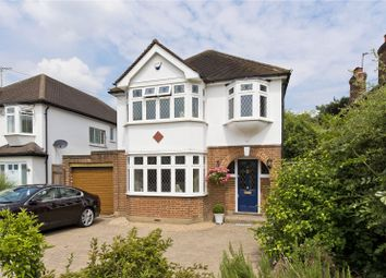 Thumbnail 3 bed detached house for sale in Ember Farm Way, East Molesey, Surrey