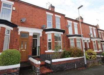 Thumbnail 3 bed terraced house to rent in Clifton Avenue, Crewe