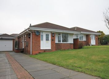 Thumbnail 2 bed bungalow for sale in Flodden Close, Chester Le Street