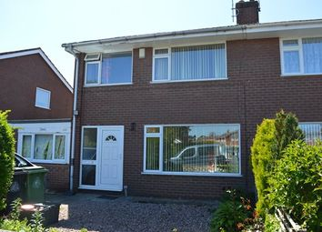 Thumbnail 3 bed semi-detached house for sale in Elm Drive, Market Drayton