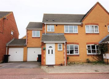 Thumbnail 4 bedroom semi-detached house for sale in Lewis Close, Abbeymeads
