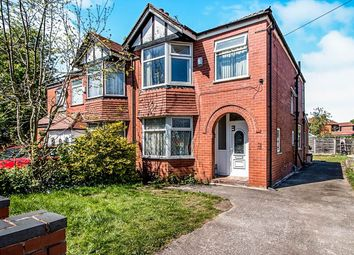Thumbnail 3 bedroom semi-detached house for sale in Kent Road West, Victoria Park, Manchester