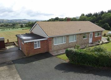 Thumbnail 3 bed detached bungalow for sale in Cyncoed, Common Road, Kerry, Newtown, Powys