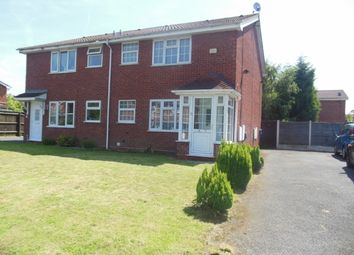 Thumbnail 1 bedroom town house for sale in Hawkswell Drive, Willenhall