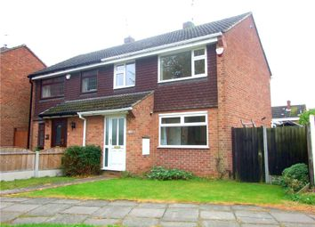 Thumbnail 3 bedroom semi-detached house for sale in Arran Close, Sinfin, Derby
