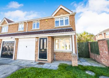 Thumbnail 3 bedroom semi-detached house for sale in Goldfinch Road, Hartlepool