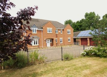 Thumbnail 5 bedroom detached house for sale in Dundee Court, Orton Northgate, Cambridgeshire