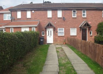 Thumbnail 2 bed terraced house to rent in Marsh Close, Rushey Mead, Leicester