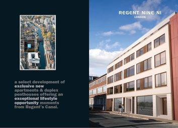 Thumbnail Flat for sale in Orsmand Road, Regent Nine Apartments, London