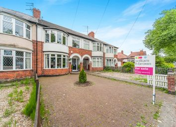 Thumbnail 4 bedroom terraced house for sale in Kingston Road, Willerby, Hull