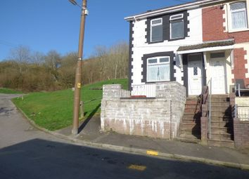 Thumbnail 3 bed end terrace house for sale in The Avenue, Pontycymer, Bridgend.