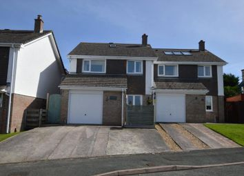 Thumbnail 3 bed semi-detached house for sale in Tapson Drive, Plymouth, Devon