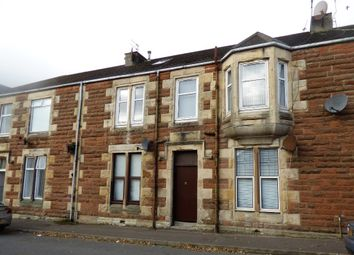 Thumbnail 1 bed flat for sale in Springvale Street, Saltcoats, North Ayrshire