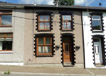 Thumbnail 2 bed terraced house for sale in Sunnyside, Ogmore Vale, Bridgend.