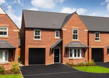 "Thumbnail 4 bed detached house for sale in ""Somerton"" at Rykneld Road, Littleover, Derby"