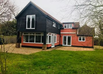 Thumbnail 4 bedroom property to rent in Eye Road, Brome, Suffolk
