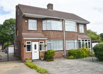 Thumbnail 4 bed semi-detached house for sale in Maylands Way, Harold Wood, Romford