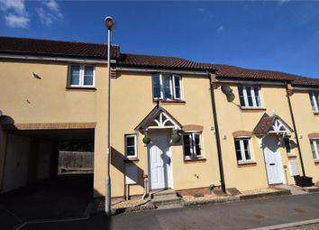 Thumbnail 2 bed terraced house for sale in Mill Avenue, Copplestone, Crediton, Devon