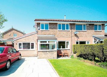 Thumbnail 4 bed semi-detached house for sale in Bullcote Green, Royton, Oldham