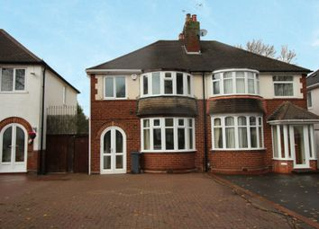 Thumbnail 3 bed semi-detached house to rent in Stroud Road, Shirley, Solihull