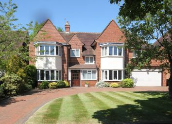 Thumbnail 4 bed detached house for sale in Brueton Avenue, Solihull